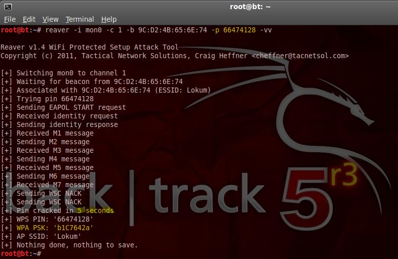 WPS Pin Cracker | WPA/WPA2 Hack in 5 Second « uceka